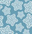 elegant floral ornament stars vector image vector image