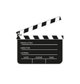 film flap vector image vector image