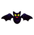fly bat icon cartoon style vector image