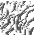 Grungy waves seamles pattern vector image vector image
