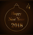 happy new year celebration abstract background vector image vector image