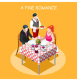 Life Time 02 People Isometric vector image vector image