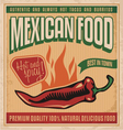Mexican food vector image vector image