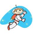 Retro Jet Boy vector image vector image