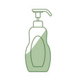 spa cream bottle vector image