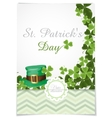 St Patricks Day Background vector image