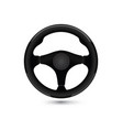 car steering wheel auto mechanic icon vector image