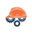 construction conceptual logo vector image vector image