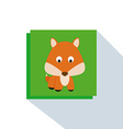Cute Fox vector image vector image