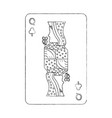 french playing cards related icon image icon image vector image vector image