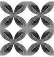 Halftone Geometric Seamless Pattern vector image vector image