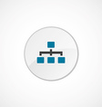 Hierarchy icon 2 colored