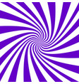 purple and white spiral design background vector image vector image