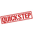 quickstep stamp vector image vector image
