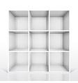 Shelf nine vector image