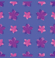 tropical summer ditsy flowers repeat vector image vector image