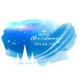 abstract merry christmas background with light vector image
