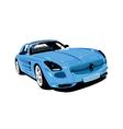 Artistic Auto vector image vector image
