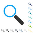 search tool icon vector image