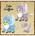 Set of three griffons vector image vector image
