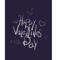 sketchy love and doodles inscription vector image