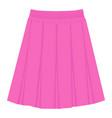 skirt template design fashion woman women skirt vector image