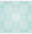 Seamless winter ornament vector image
