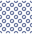 blue porthole seamless pattern vector image vector image