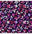 Butterflies Pattern Pink Big vector image vector image