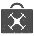 Drone Toolbox Icon Rubber Stamp vector image vector image
