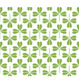 green leaf seamless pattern background vector image vector image