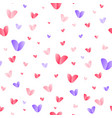 hearts pattern for wrapping paper seamless vector image