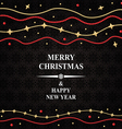 ornament card vector image vector image