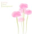Ranunculus bouquet vector image