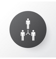 team building icon symbol premium quality vector image vector image