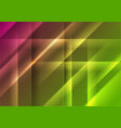 abstract bright shiny geometric tech background vector image vector image