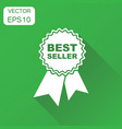 best seller icon business concept best seller vector image