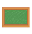 blackboard chalkboard school isolated icon stock vector image