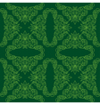 dark green seamless pattern vector image