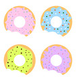 donuts1 vector image vector image