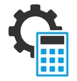 Engineering Calculations Flat Icon vector image