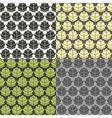 Humulus pattern vector image vector image