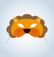 Lion Mask vector image
