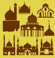 Mosque 1 vector image vector image