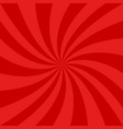 red spiral design background - graphics vector image vector image