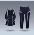 womens sport wear vector image