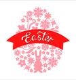 easter ribbon vector image