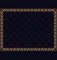 art deco frame vintage linear border design