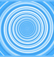 blue twirl spiral abstract background vector image vector image