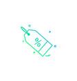 sale tag icon design vector image vector image